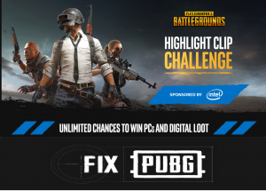'Fix PUBG' Campaign and Unlimited Chances to Win PCs or Digital Loot
