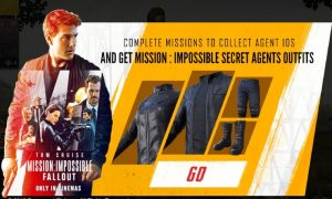 Get Mission Impossible Outfit In PUBG