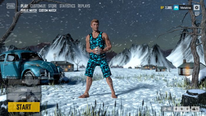 Tweaked Pubg Mobile To Look Like The Pc Version Pubgmobile: PUBG Mobile 0.11 Update: Beta, Snow Map, Rain In Miramar