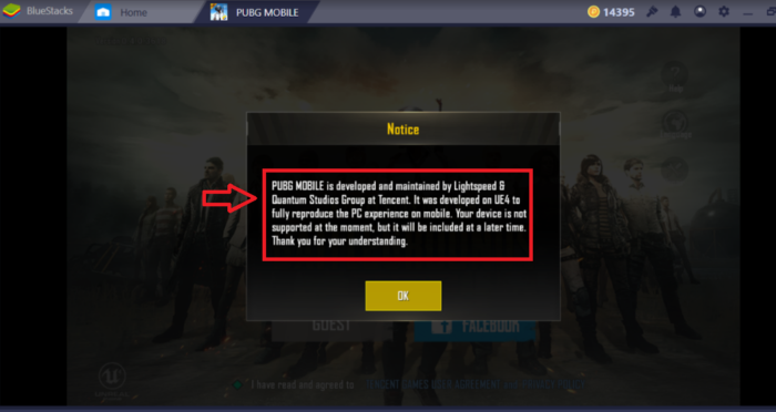 PUBG Mobile Not Supported