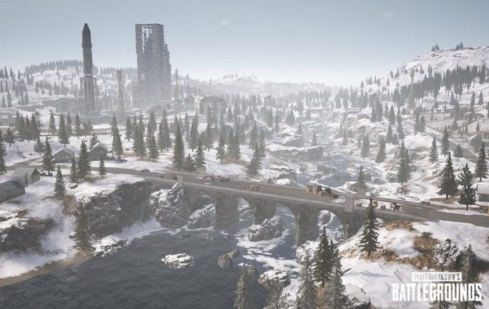 PUBG Snow Map Vikendi