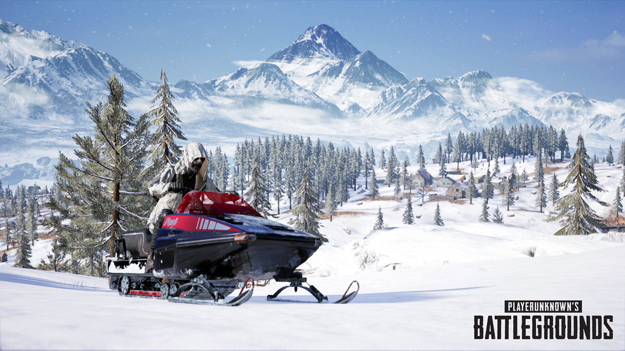 NEW VEHICLE: SNOWMOBILE