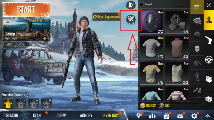 Upgrade Firearm in PUBG Mobile