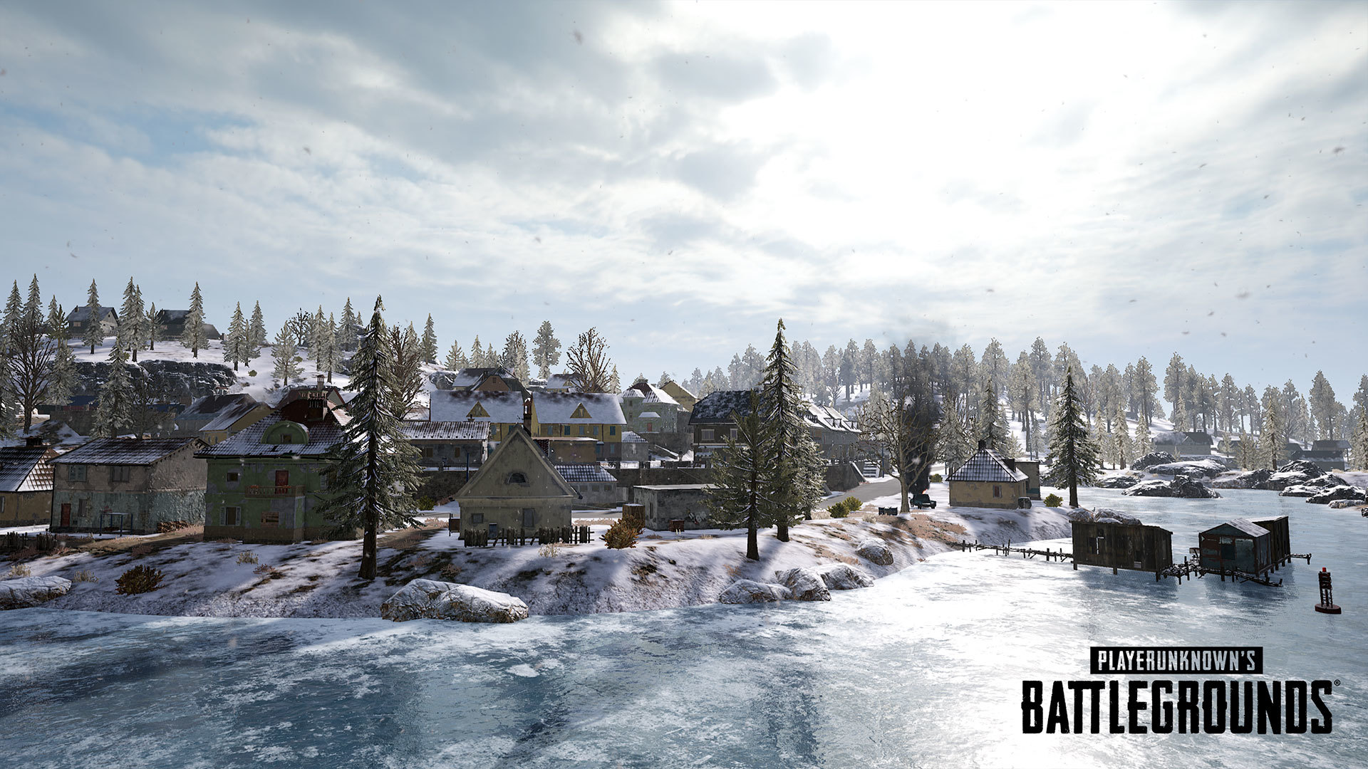Vikendi Snow Map