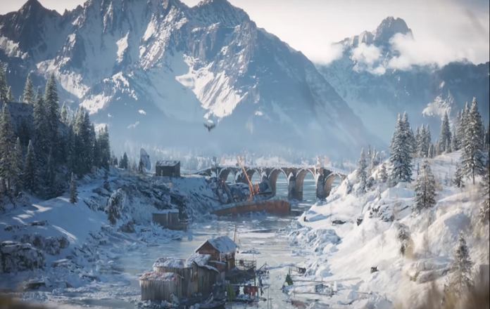 Exclusive PUBG Snow Map trailer