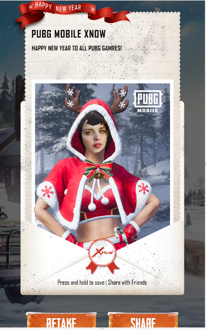 Own PUBG Mobile Vikendi New Year Skin