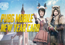 PUBG New Year card