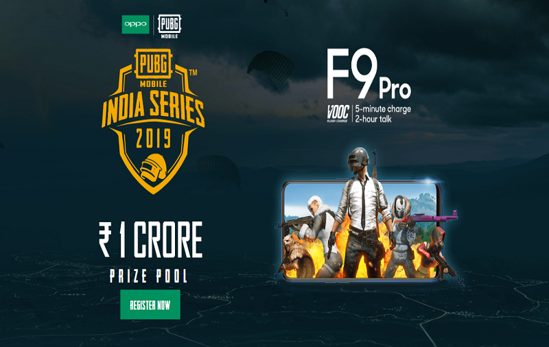 Participate In PUBG Mobile India Series 2019