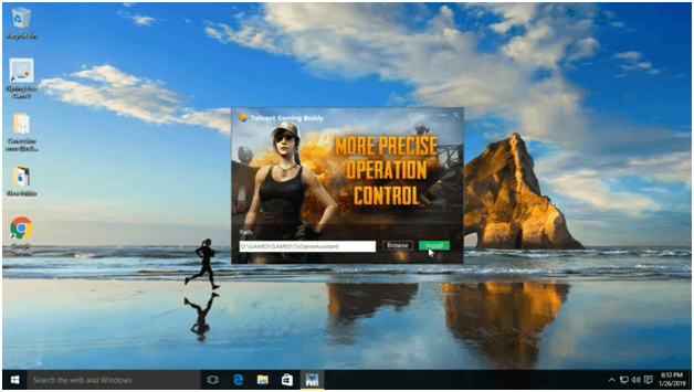 Tecent Gaming Buddy PUBG emulator