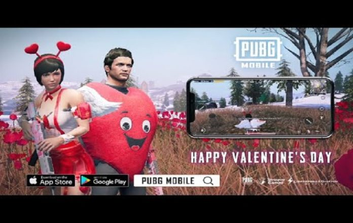 PUBG Mobile Valentine's Day