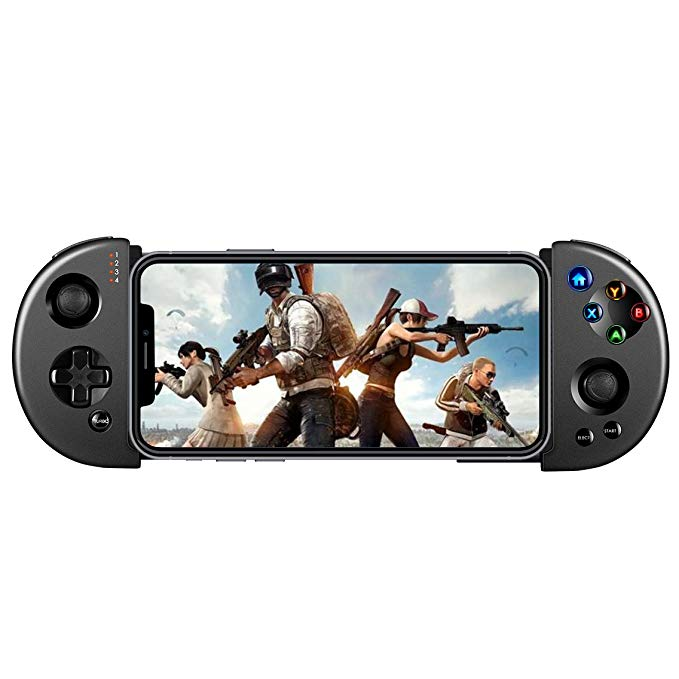 Retractable Telescopic Shock Connecting Joystick PUBG Gamepad Android Phone