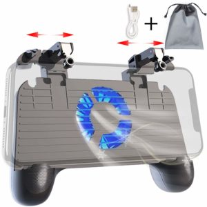 1#. Meilulan PUBG Mobile Controller Meilulan PUBG controller has change the phone while playing PUBG game with the EMERGENT power down during game by built-in 4000 mAh power bank. This controller support the cooling panel with blue light in fan gives a cool look. The controller has the adjustable real shooting sense continuous shooting non-slip with small trigger that does not block screen, sensitive, no delay and no error which is very attractive feature of this PUBG game controller. PROS • 4000mAh PORTABLE CHARGER • BLUE LIGHT PHONE COOLER • 4 FINGERS OPERATION • SUPPORTED DEVICES 4 INCH TO 6.5 INCH SCREEN Android & iPhone CONS • There is no such issue found in this PUBG Controller for Mobile and works perfectly with the Android/iOS smart device. 2#. COOBILE PUBG Mobile Controller Coobile PUBG controller for mobile has the adjustable fire button and Aim button with the easy free finger gear. You can flip the button while operating the screen and you can use the folding bracket design to watch mobile movies on your device. https://images-na.ssl-images-amazon.com/images/I/71fSKd1dBrL._SL1500_.jpg Step#1 Customize on setting page Step#2 Move the Fire and Aim key to right place Step#3 Save and back to the game PROS • Fire controller can be flipped • 4 fingers operate at the same time • Key Gaming Grip and Gaming Joysticks • 4.5-6.5inch screen compatible CONS • There is no such issue found in this PUBG Controller for Mobile and works perfectly with the Android/iOS smart device. 3#. Aovon PUBG Mobile Controller Aovon PUBG controller is design for the new generation Android and iOS smart phones which allow adjusting with easily operate in large 6 inch screen or above. This controller is ergonomic design make your hand feel more comfortable and Triggers can be 180 degree flipped for easy operation of the screen. With this controller you can simulate the 98K trigger button and enjoy the real shot. The foldable buckle can be used as a mobile phone holder. PROS • Rotate 360 
