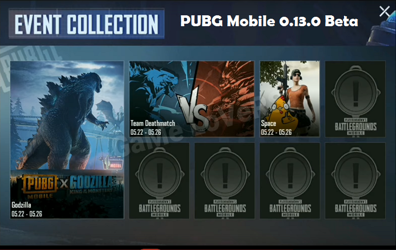 PUBG Mobile 0.13.5 beta apk