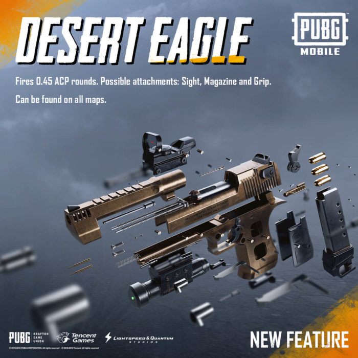 PUBG Mobile 0.15.0 new weapon