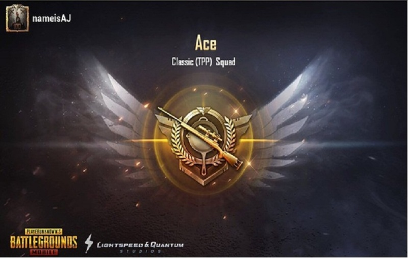 Reach Ace In PUBG Mobile Season