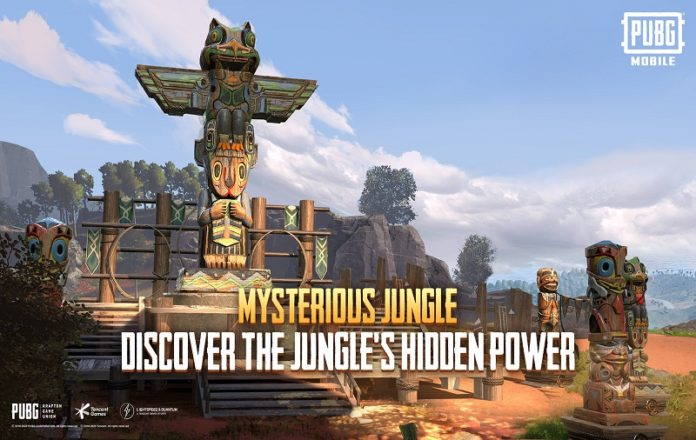 PUBG Mobile new Mysterious Jungle Mode