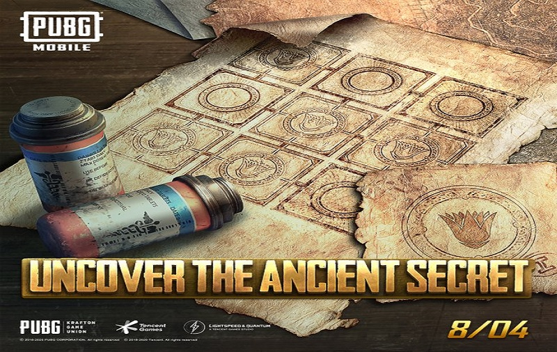 PUBG Mobile Ancient Secret event