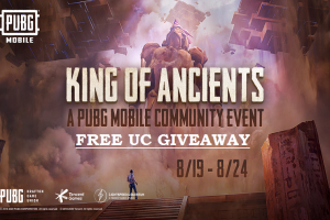 PUBG Mobile King of Ancients FREE UC