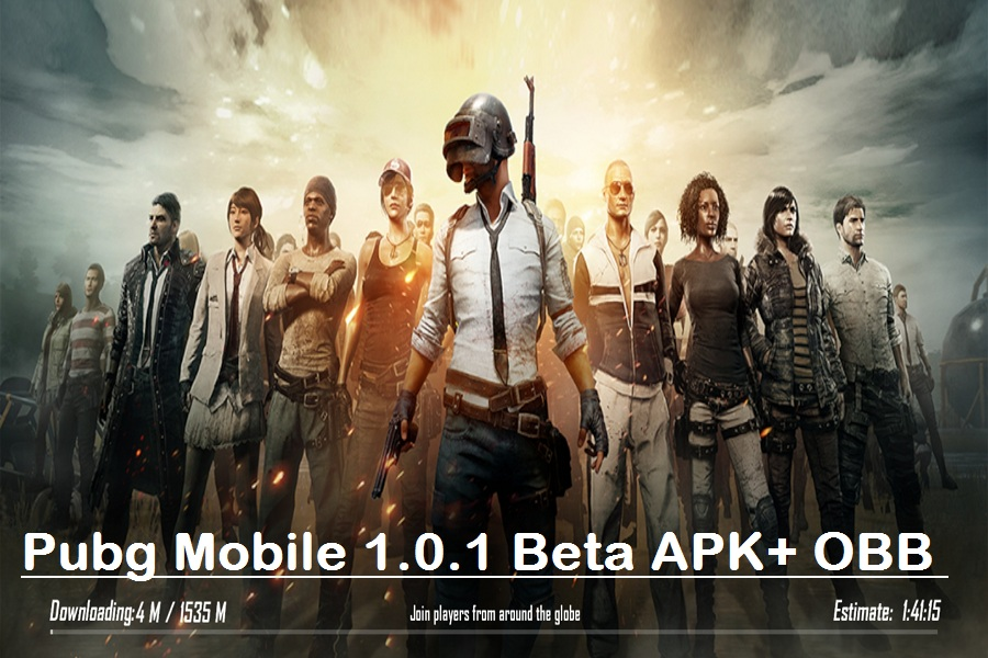 Pubg Mobile 1.0.1 Beta APK+ OBB
